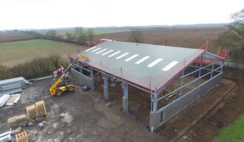 Industrial Steel Frame Buildings   Timmins Engineering