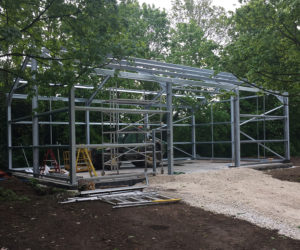 Agricultural Steel frame building | timmins engineering