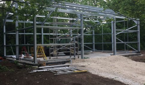 Kit Form Steel Frame Buildings | Timmins Engineering