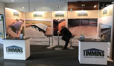 Livestock Buildings & Cattle Buildings - LAMMA 2018 | Timmins Engineering