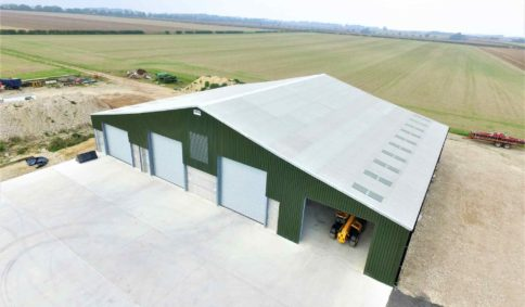 Grain Stores & Potato Storage Shed | Timmins Engineering