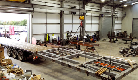 Steel Fabrication - Livestock & Industrial Steel Buildings | Timmins Engineering