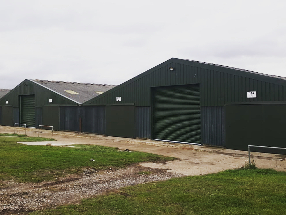 farm sheds and cattle buildings