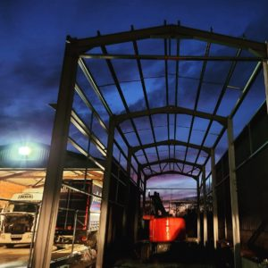 Full Turnkey Structural Steel Services